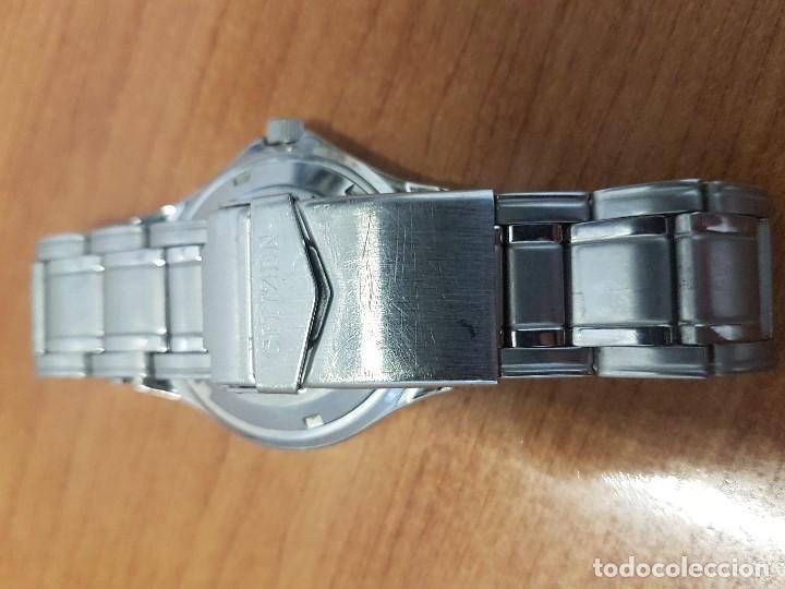 Relojes - Citizen: Reloj caballero Vintage CITIZEN automático en acero con doble calendario, correa de acero original - Foto 14 - 138774650