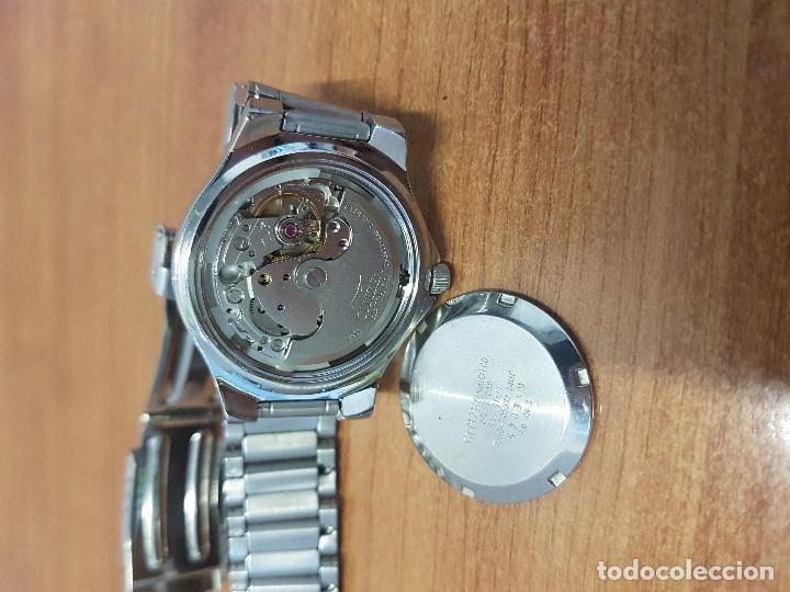 Relojes - Citizen: Reloj caballero Vintage CITIZEN automático en acero con doble calendario, correa de acero original - Foto 17 - 138774650