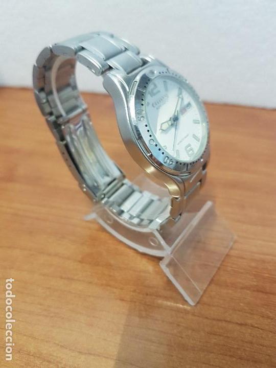 Relojes - Citizen: Reloj caballero Vintage CITIZEN automático en acero con doble calendario, correa de acero original - Foto 3 - 138774650