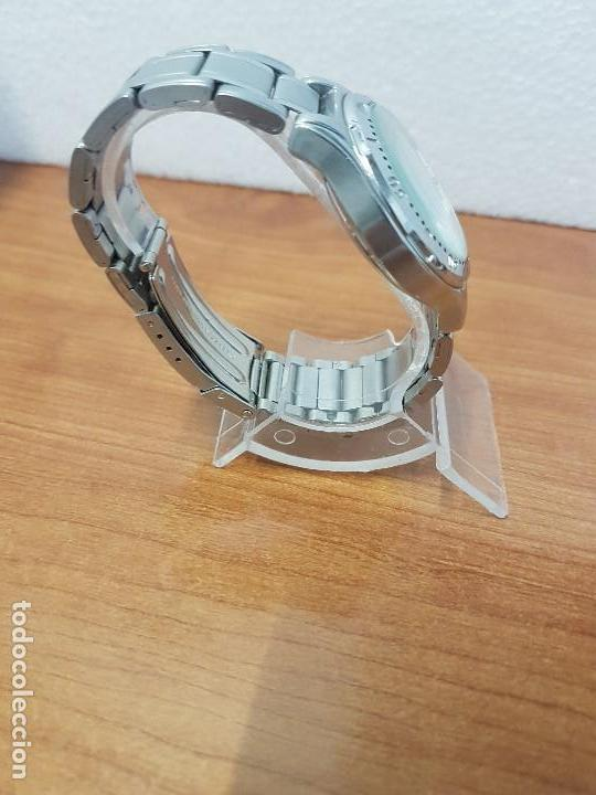 Relojes - Citizen: Reloj caballero Vintage CITIZEN automático en acero con doble calendario, correa de acero original - Foto 9 - 138774650