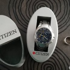 Relojes - Citizen: CONJUNTO RELOJ CITIZEN ECO DRIVE Y ANILLO DE PLATA 925. Lote 141636121