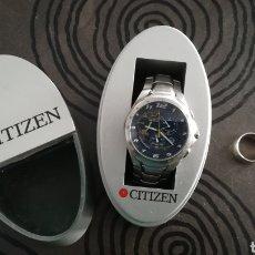 Relógios - Citizen: RELOJ DE PULSERA CITIZEN ECO DRIVE Y ANILLO DE PLATA 925. Lote 141636529