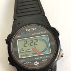 Relojes - Citizen: RELOJ VINTAGE CITIZEN DQ-9018 FOOTBALL TIMER JAPAN. Lote 144355469