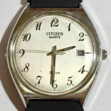 Relojes - Citizen: CITIZEN QUARTZ SEVEN,CALENDARIO,SEGUNDERO,CAL.MIYOTA CITIZEN,CAJA DE ACERO 37 M/M.C/C.. Lote 147151358