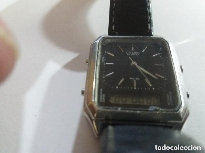 Relojes - Citizen: reloj citizen analógico digital, vintage, funciona, leer. - Foto 2 - 148032094