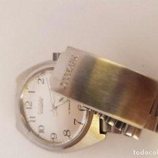 Relojes - Citizen: RELOJ DE CABALLERO AUTOMÁTICO CITIZEN EN ACERO, CALENDARIO A LAS TRES HORAS, CORREA ACERO ORIGINAL . Lote 92280900