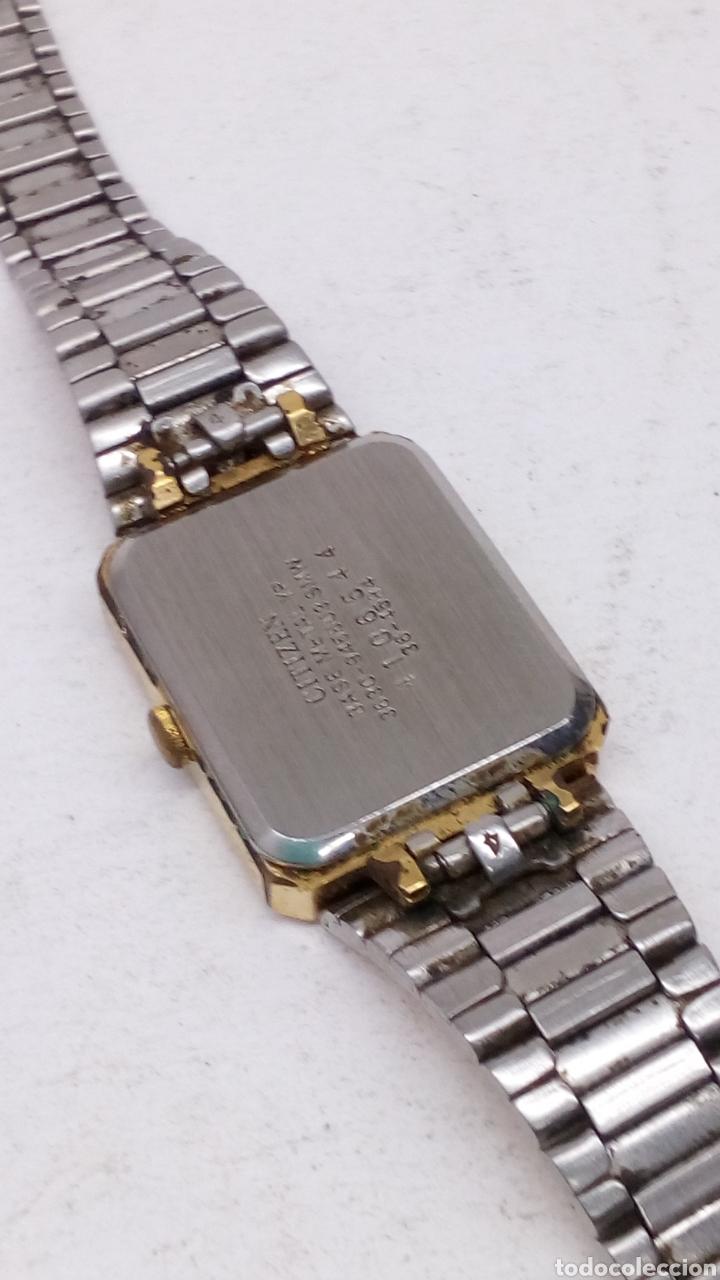 Relojes - Citizen: Reloj Citizen Quartz vintage chapado completo - Foto 2 - 153120509