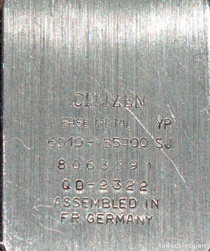 Relojes - Citizen: RELOJ DE PULSERA DE SEÑORA CITIZEN QARTZ. CON PILA. FUNCIONANDO. FR GERMANY. - Foto 4 - 154178170