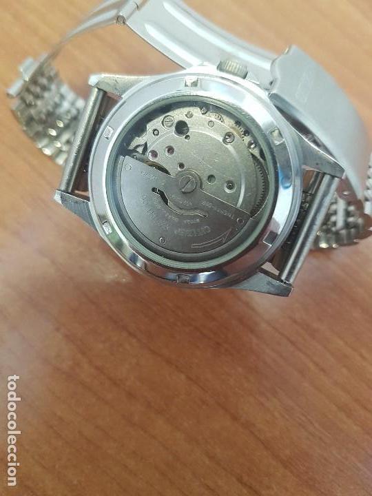 Relojes - Citizen: Reloj de caballero (Vintage) CITIZEN acero automático con doble calendario a las tres correa acero - Foto 10 - 157814654