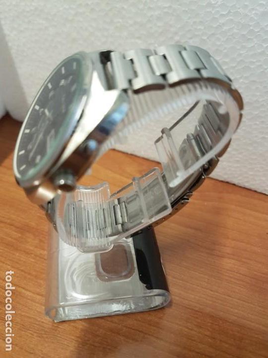 Relojes - Citizen: Reloj de caballero (Vintage) CITIZEN acero automático con doble calendario a las tres, año las doce - Foto 7 - 192175538