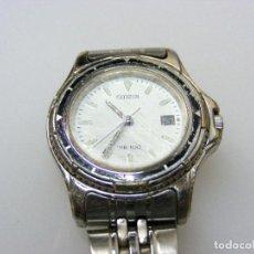 Relojes - Citizen: RELOJ DE PULSERA CITIZEN WR100 - SEÑORA - CORREA DE ACERO ORIGINAL. Lote 160917074