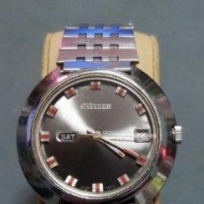 Relojes - Citizen: CITIZEN CRYSTAL SEVEN CUSTOM 25 JEWELS 44 MMS AUTOMATICO RARO ACERO ESTADO BUENO MIRE MAS ARTICULOS. Lote 182240602