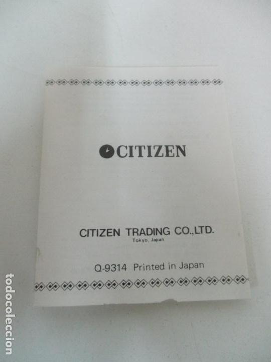 Relojes - Citizen: Reloj de Sobremesa - Marca Citizen - con Caja y Certificado - Nuevo a Estrenar - Foto 13 - 162538390
