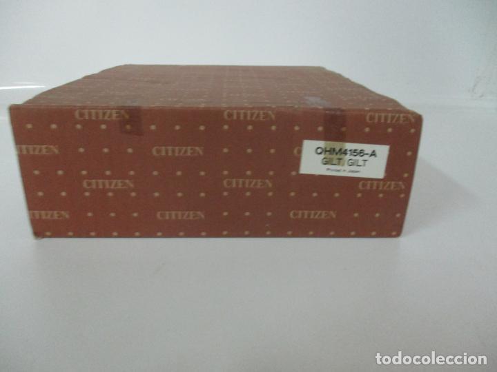 Relojes - Citizen: Reloj de Sobremesa - Marca Citizen - con Caja y Certificado - Nuevo a Estrenar - Foto 14 - 162538390