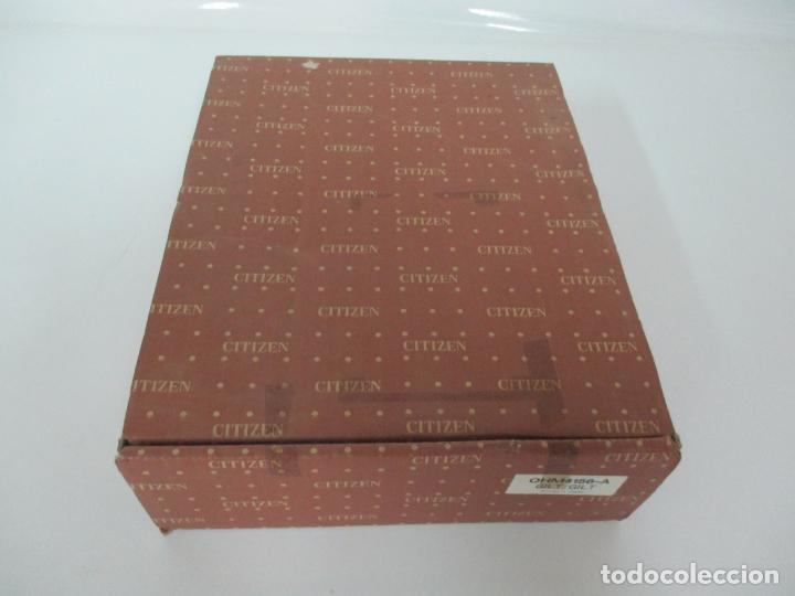 Relojes - Citizen: Reloj de Sobremesa - Marca Citizen - con Caja y Certificado - Nuevo a Estrenar - Foto 15 - 162538390