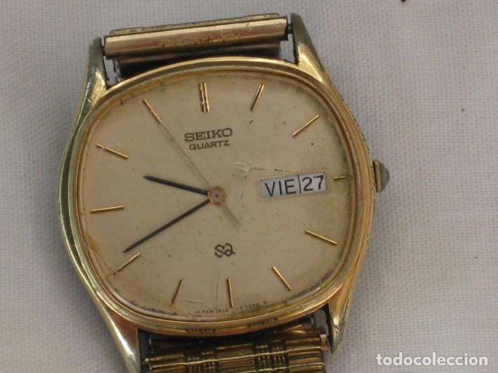 Relojes - Citizen: Antiguo reloj Seiko. No esta probado. - Foto 2 - 171356489