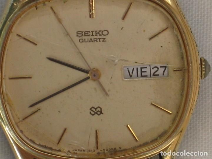 Relojes - Citizen: Antiguo reloj Seiko. No esta probado. - Foto 3 - 171356489