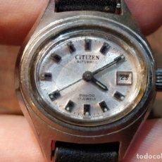 Relojes - Citizen: RELOJ DE PULSERA SEÑORA CITIZEN AUTOMATIC, FUNCIONANDO. 2,5 X 2,3 CMS.. Lote 51460771