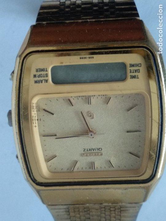Relojes - Citizen: reloj citizen digital y analógico 41-8021 japan - Foto 5 - 175918427