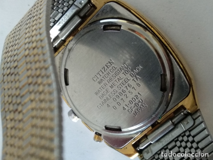 Relojes - Citizen: reloj citizen digital y analógico 41-8021 japan - Foto 8 - 175918427