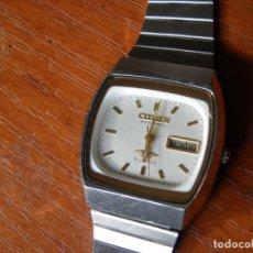 Relojes - Citizen: RELOJ AUTOMATICO CITIZEN 21 JEWELS FUNCIONANDO. Lote 176578480