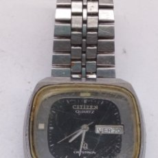 Relojes - Citizen: RELOJ CITIZEN QUARTZ CRYSTRON. Lote 176935197