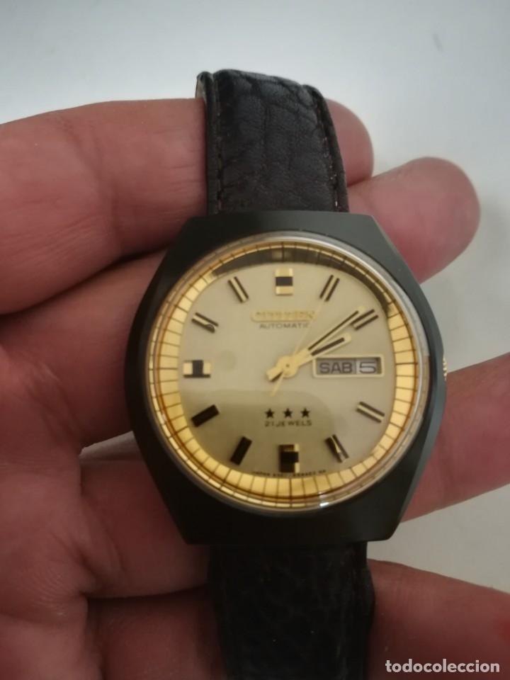 Relojes - Citizen: Reloj Citizen automático años 70 totalmente nuevo 3 estrellas 37 milímetros - Foto 2 - 177716298