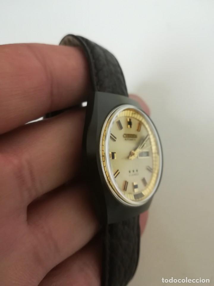 Relojes - Citizen: Reloj Citizen automático años 70 totalmente nuevo 3 estrellas 37 milímetros - Foto 4 - 177716298