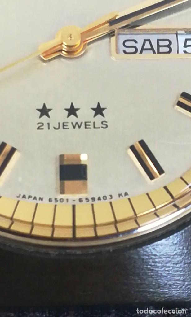 Relojes - Citizen: Reloj Citizen automático años 70 totalmente nuevo 3 estrellas 37 milímetros - Foto 13 - 177716298
