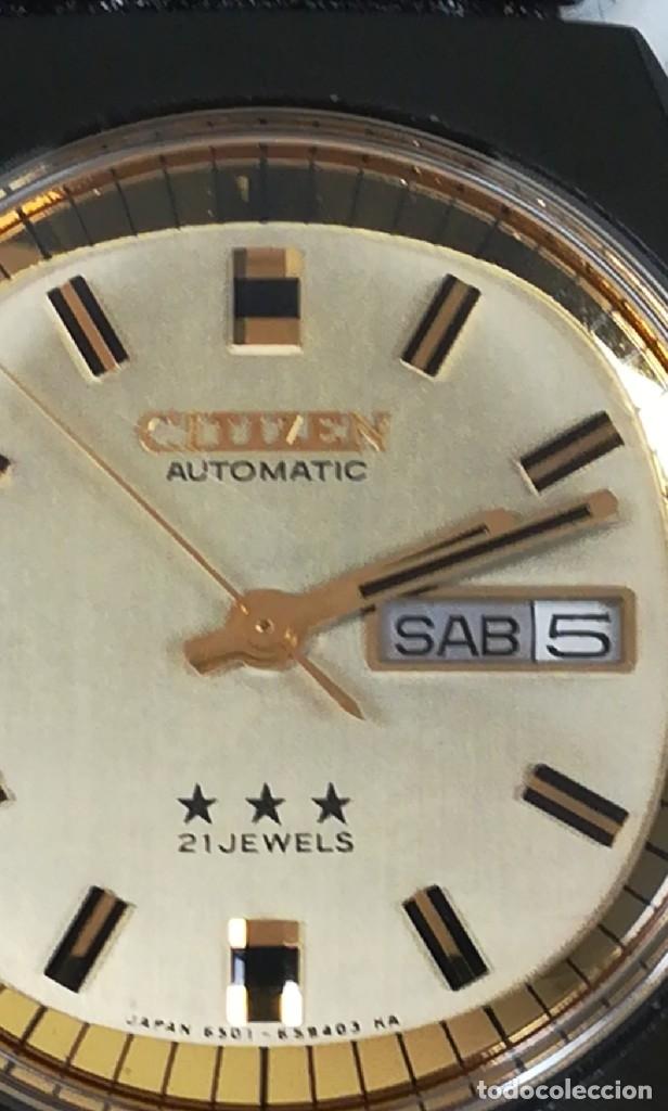 Relojes - Citizen: Reloj Citizen automático años 70 totalmente nuevo 3 estrellas 37 milímetros - Foto 14 - 177716298