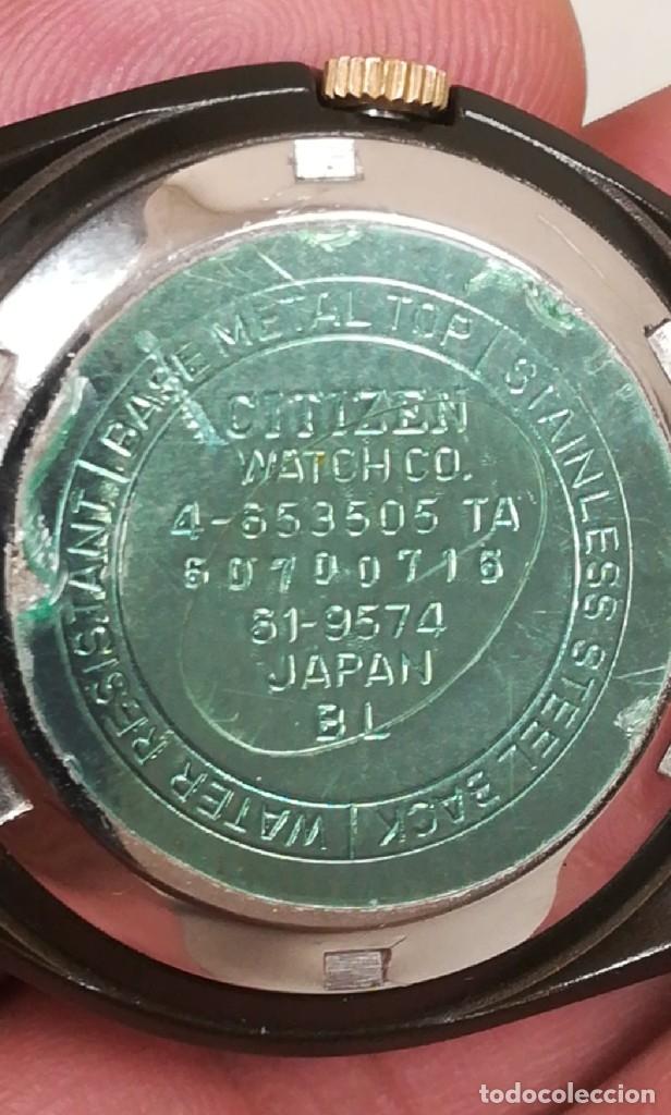 Relojes - Citizen: Reloj Citizen automático años 70 totalmente nuevo 3 estrellas 37 milímetros - Foto 16 - 177716298