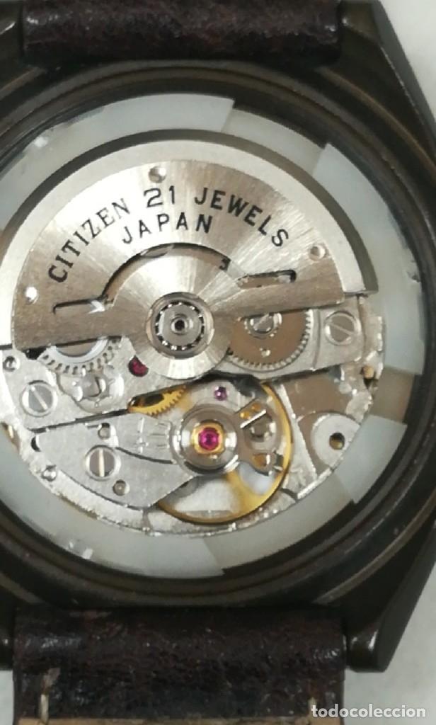 Relojes - Citizen: Reloj Citizen automático años 70 totalmente nuevo 3 estrellas 37 milímetros - Foto 17 - 177716298