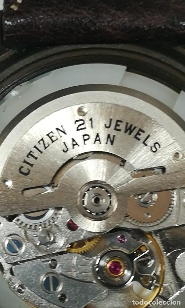Relojes - Citizen: Reloj Citizen automático años 70 totalmente nuevo 3 estrellas 37 milímetros - Foto 18 - 177716298