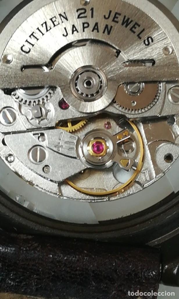 Relojes - Citizen: Reloj Citizen automático años 70 totalmente nuevo 3 estrellas 37 milímetros - Foto 19 - 177716298