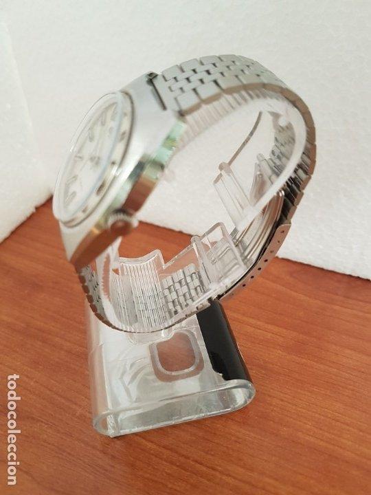 Relojes - Citizen: Reloj caballero (Vintage) CITIZEN acero automático con calendario a las tres horas, correa de acero - Foto 6 - 178300062
