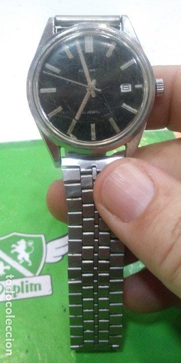 RELOJ CITIZEN AUTOMATICO 21 RUBIS FUNCIONANDO CORRECTAMENTE TODO BIEN CRISTAL CON RALLONES Y ESFERA (Relojes - Relojes Actuales - Citizen)