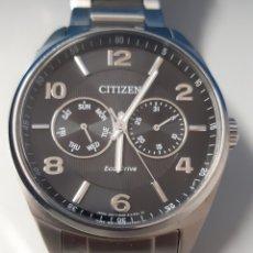 Relojes - Citizen: RELOJ DE ALTA JOYERÍA CITIZEN ECO DRIVE ACERO PULIDO. Lote 182617038