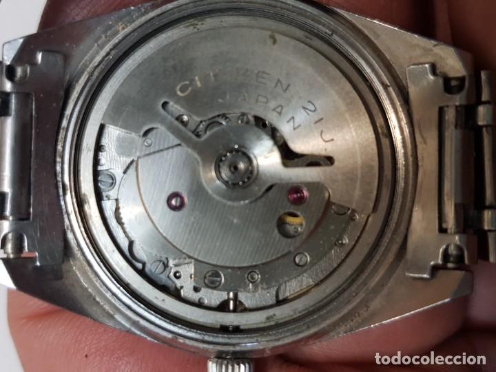 Relojes - Citizen: Reloj antiguo Caballero Citizen Automatic 21 jewels funcionando - Foto 2 - 183022153