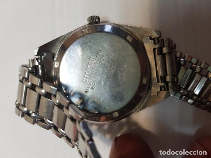 Relojes - Citizen: Reloj antiguo Caballero Citizen Automatic 21 jewels funcionando - Foto 4 - 183022153