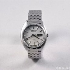 Relojes - Citizen: CITIZEN AUTOMATIC 21 JEWELS BLANCO 35MM. Lote 183400317