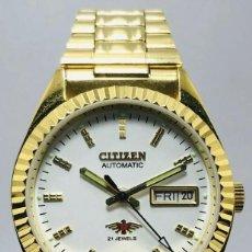 Relojes - Citizen: CITIZEN AUTOMATICO CLASIC .COMO NUEVO. Lote 185995961