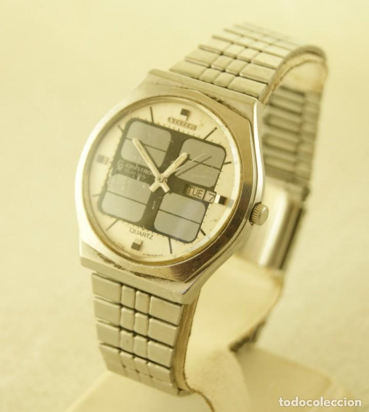 Relojes - Citizen: CITIZEN CRYSTRON SOLAR CELL DIGITAL ACERO - Foto 3 - 187317643