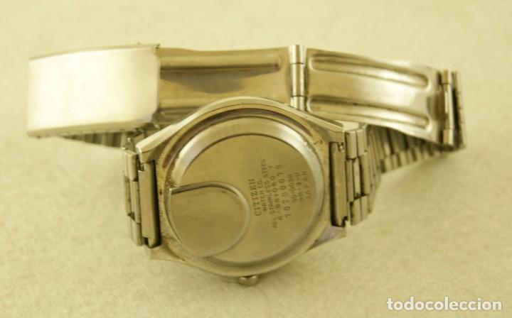 Relojes - Citizen: CITIZEN CRYSTRON SOLAR CELL DIGITAL ACERO - Foto 5 - 187317643