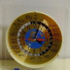 Relojes - Citizen: RELOJ MUNDIAL DE SOBREMESA. CITIZEN. USOS HORARIOS MUNDIALES. 22 X 19 CM. 450 GR. Lote 188698083