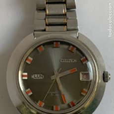 Relojes - Citizen: RELOJ VINTAGE CITIZEN CRYSTAL SEVEN 21JEWELS AUTOMATIC DAY DATE WATERPROOF. Lote 188741123
