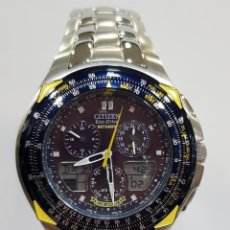 Relojes - Citizen: RELOJ CITIZEN PROMASTER BLUE ANGELS SKYHAWK PILOT ECO-DRIVE . Lote 190242610