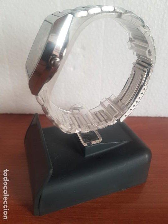 Relojes - Citizen: Reloj caballero (Vintage) CITIZEN automático 21 rubis con doble calendario, correa acero original - Foto 14 - 191196550