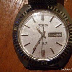 Relojes - Citizen: CITIZEN AUTOMATICO 21 JEWELS CON DEFECTO. Lote 193016090