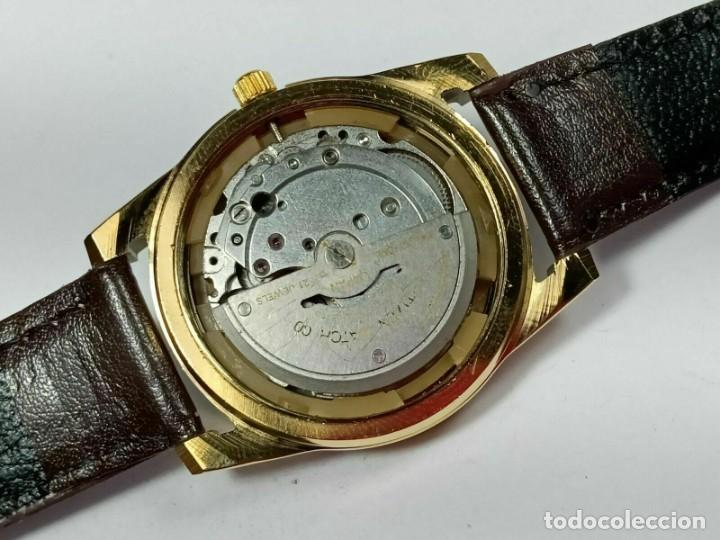 Relojes - Citizen: Reloj Citizen Automatic Vintage para hombre, chapado en oro AU26 - Foto 6 - 194554878