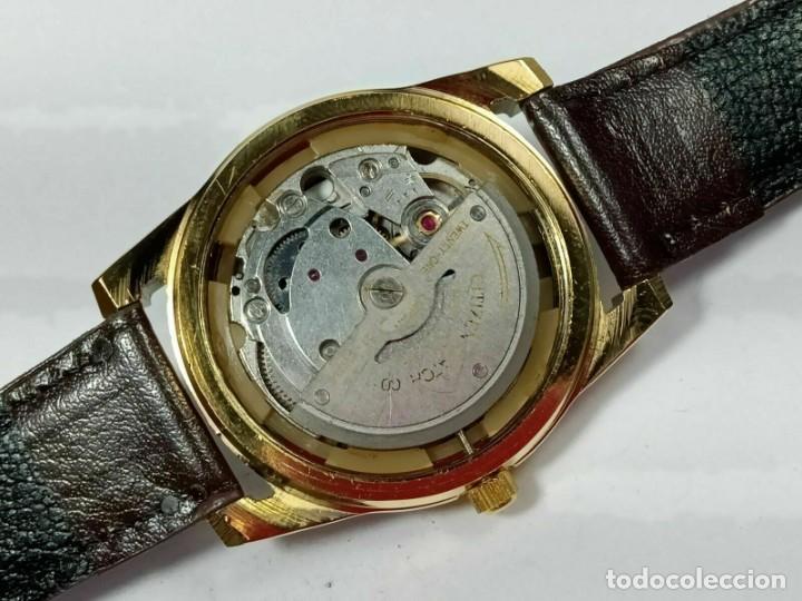 Relojes - Citizen: Reloj Citizen Automatic Vintage para hombre, chapado en oro AU26 - Foto 7 - 194554878